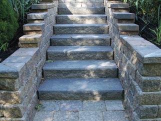 Unilock Staircase